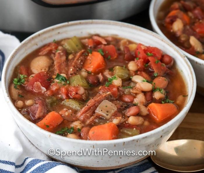 Instant Pot Ham And Bean Soup Hurst Beans