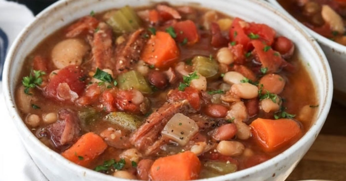Instant Pot Ham And Bean Soup Hurst Beans