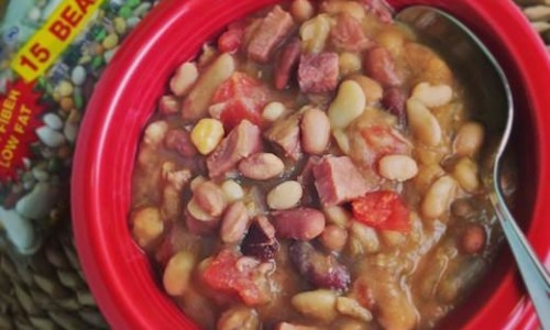 Slow Cooker 15 BEAN SOUP