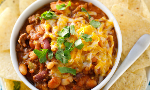 15 Bean Salsa Chili