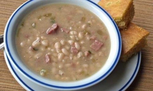 Navy Bean Soup (aka Senate Bean Soup)
