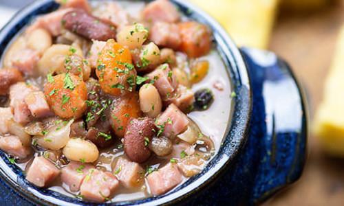 Instant Pot Ham and Beans