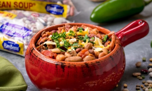 15 BEAN SOUP Crock Pot or Slow Cooker Recipe