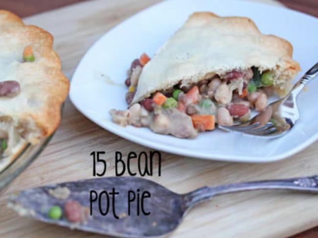143 15 Bean Pot Pie Baked