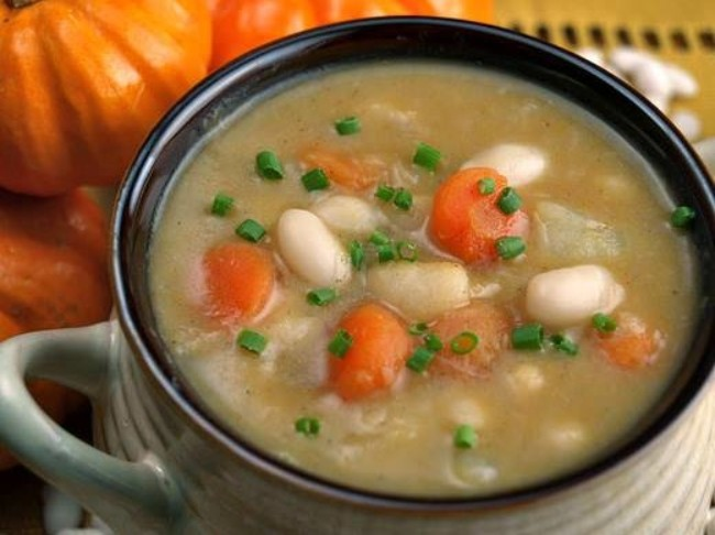 166 Pumpkin White Bean Soup 2