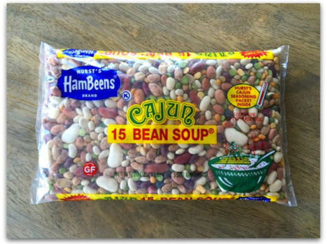 208 Hurst's Cajun 15 Bean Soup