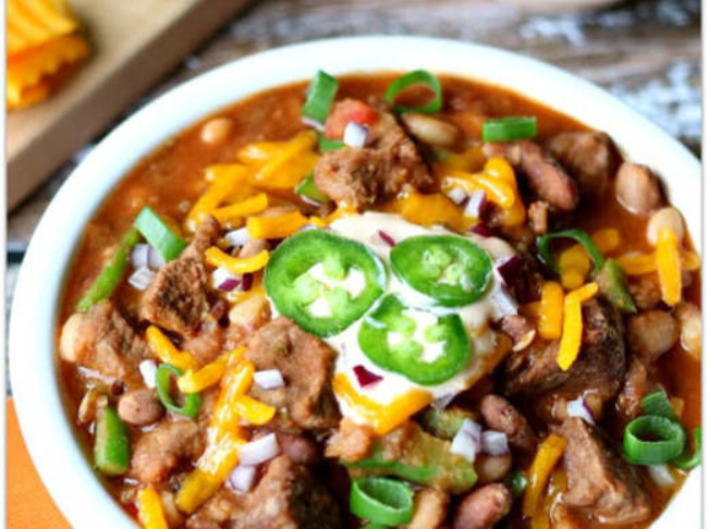 209 Slow Cooker Recipe For 15 Bean Beef Chili
