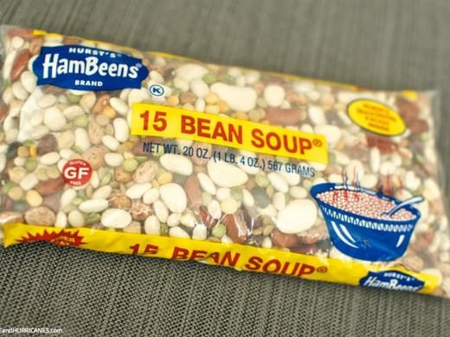 219 15 Bean Soup Hurst Beans