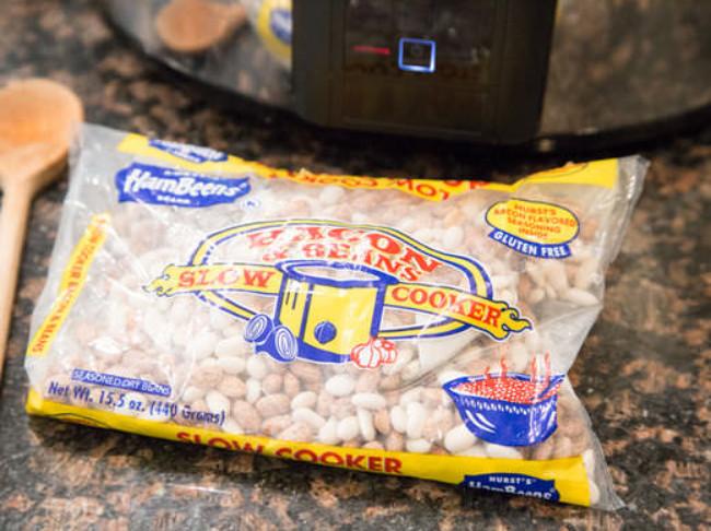 232 Bacon Cheeseburger Bean Soup