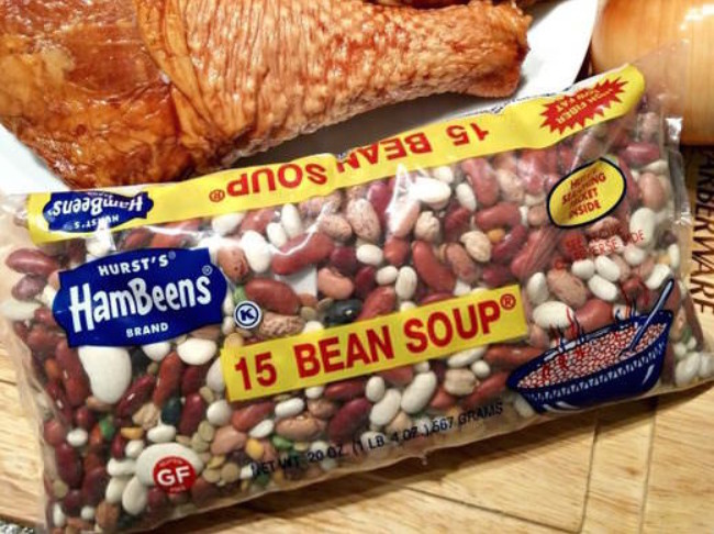241 15 Bean Turkey Soup Crop