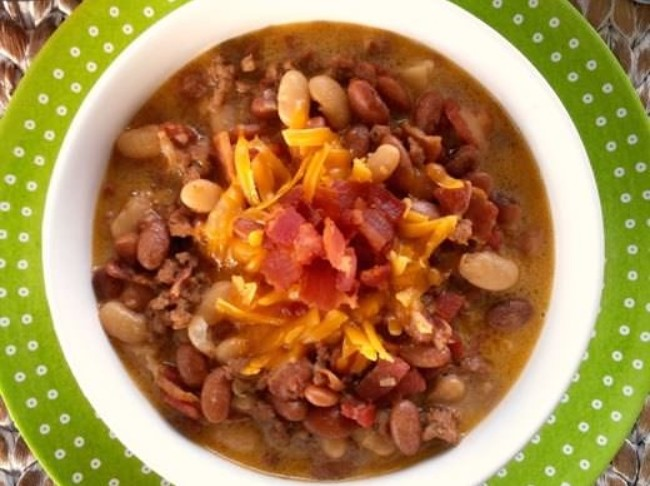 283 Cropped Bean And Bacon Cheeseburger Soup 4 Pn