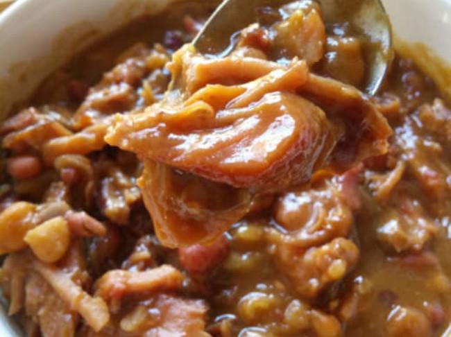 316 Cajun Ham And Beans Pn