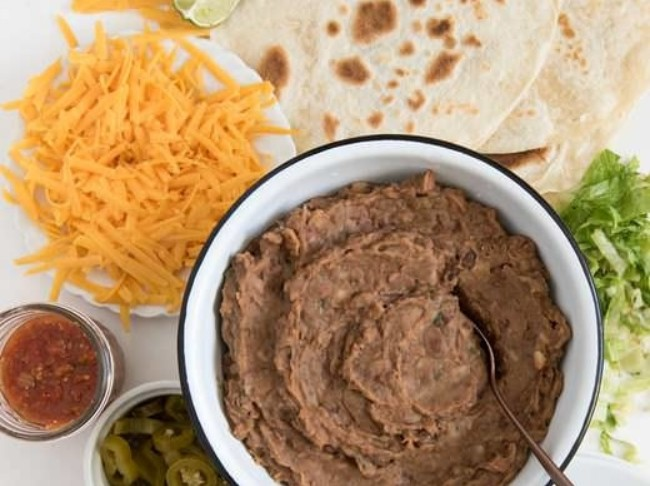 345 Slow Cooker Refried Beans 3