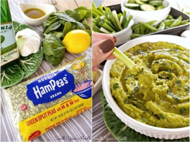 378 Green Goddess Hummus Collage