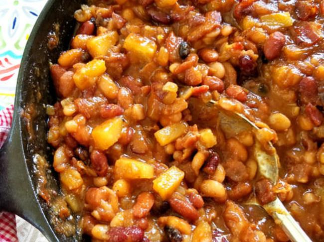 383 Pineapple Bacon Baked Beans 5 Pn