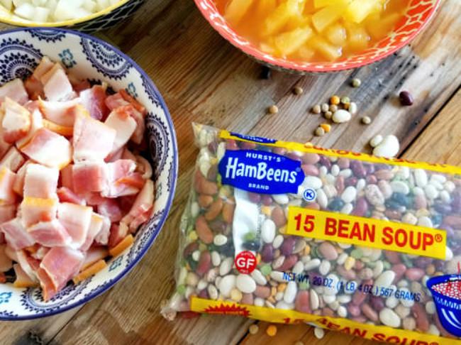 384 Pineapple Bacon Baked Beans 6