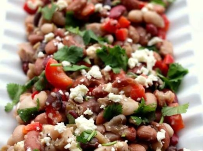 387 Instant Pot 15 Bean Salad Recipe