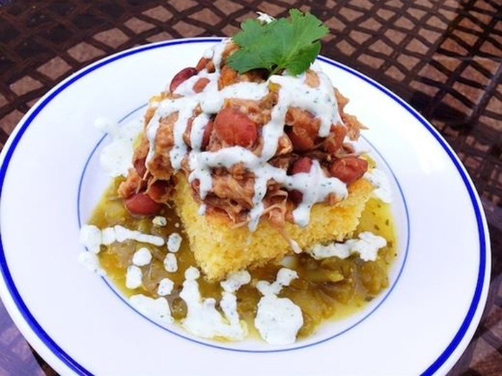 Green Chile Pulled Pork & Pintos