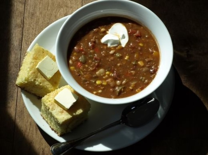 15 Bean Vegetarian Chili