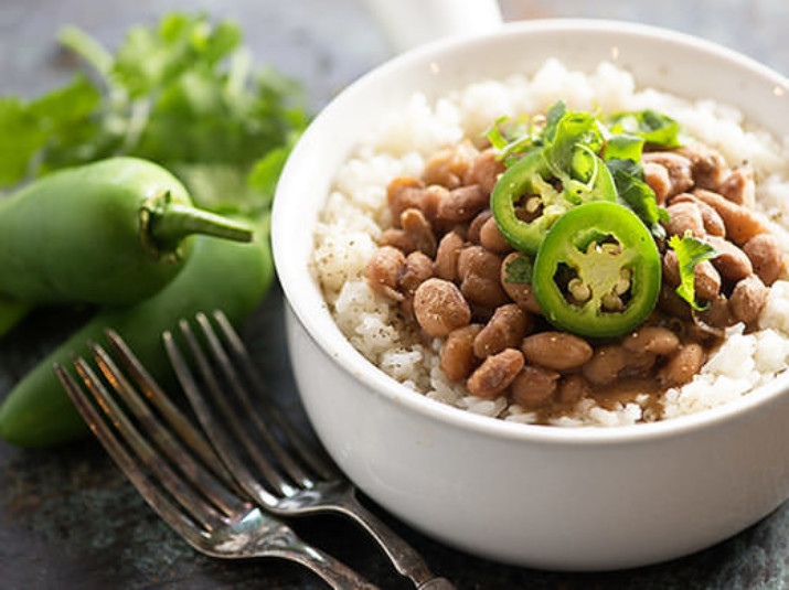 Tex-Mex Pinto Beans (Instant Pot recipe)