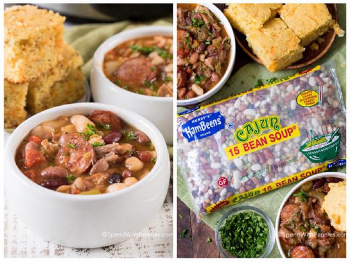 Slow Cooker Cajun Turkey Bean Soup