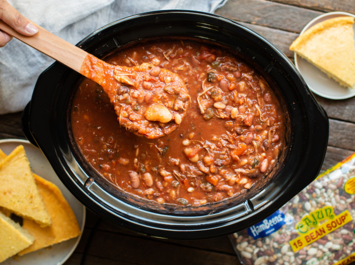 Cajun 15 BEAN SOUP® with Turkey
