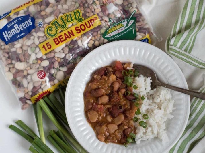 Instant Pot Cajun Beans and Rice