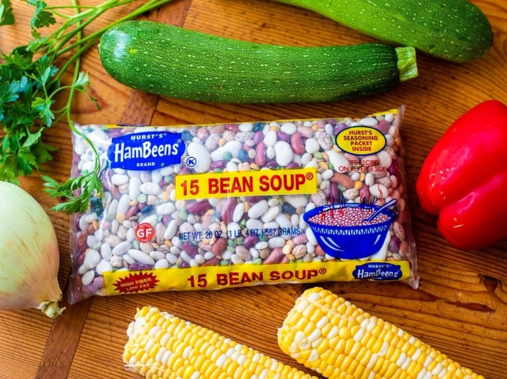 Instant Pot Summer Vegetable 15 BEAN SOUP